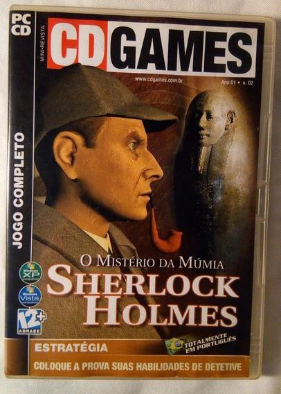 Sherlock Holmes O Mistério Da Múmia Jogo Completo Cd Expert