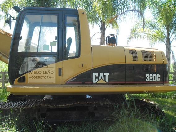 Escavadeira Caterpillar 320c - Ano 2007 - 2º Dono