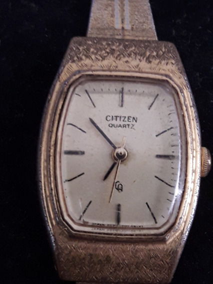 Relógio Citizen Quartz Japonês Feminino Delicado