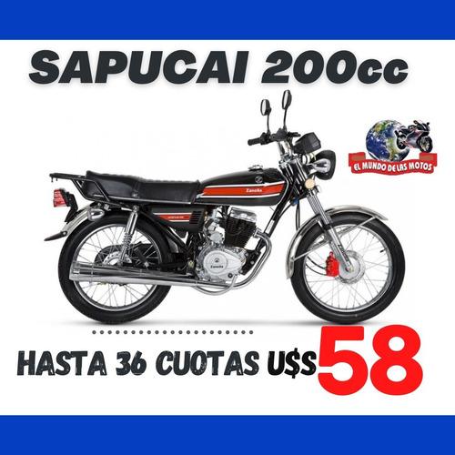 Zanella Sapucai 200 0km - Winner Cg, Winner Strong, Honda Cb