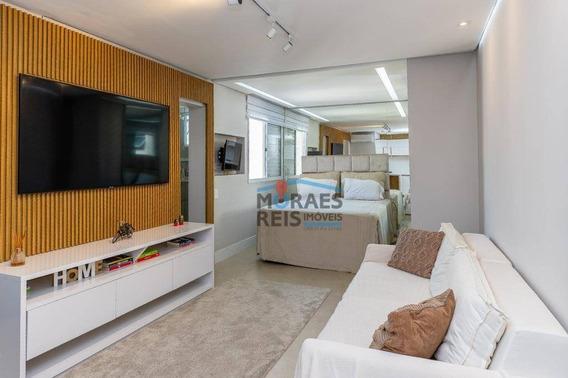 Apartamento Com 1 Dormitório À Venda, 38 M² Por R$ 650.000 - Itaim - São Paulo/sp - Ap15110