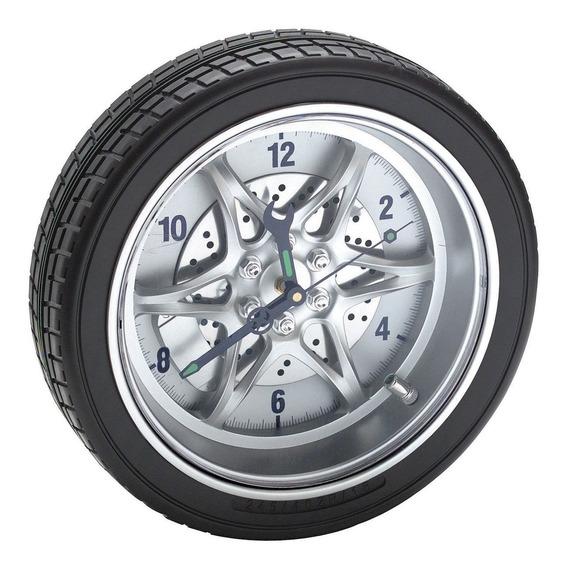 Reloj De Pared Diseño De Llanta