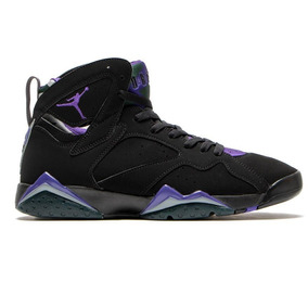Tenis Jordan Air 7 Retro Black-purple Talla #28 Hombre Psd