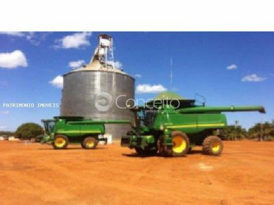 Fazenda Para Venda, Fazenda Com 34.500 Hectares De Agricultura Em Piratininga/mt. - 7826