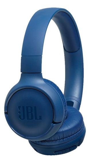 Fone De Ouvido Headphone Jbl Tune 500bt Bluetooth Azul