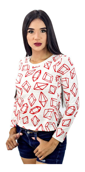 Sweater Sudadera Holiday Juvenil Dama Detal Mayor