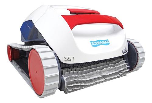 Robô Aspirador Automático C/ Filtro Para Limpeza De Piscinas Até 10m Modelo Ss1 - Sodramar