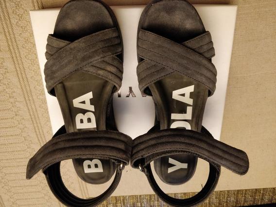 Zapatos Bimba Y Lola Gris Ante