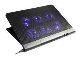 Cooling Pad Xtech Kyla ,para Notebook 17 Con 6 Ventiladores,