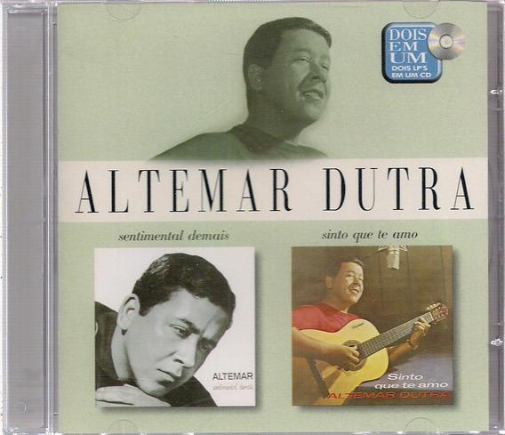 Altemar Dutra - Série Dois Lps Em Um Cd ( Promocional )