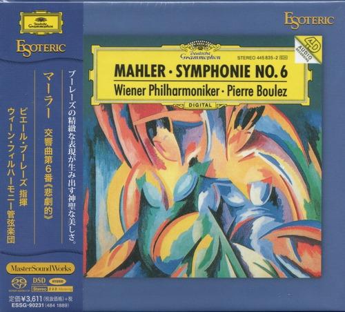 Imagen 1 de 5 de Disco Sacd Cd Mahler Symphonie Nº 6  Esoteric Series