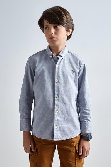 Camisa Mini Oxford Ml Reserva Mini