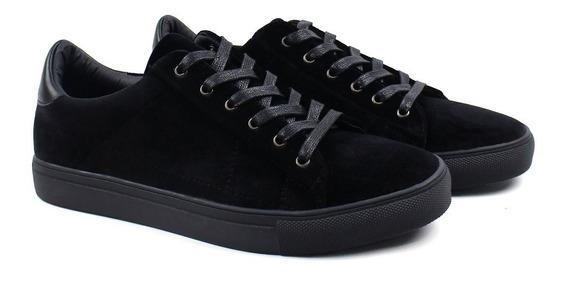 Zapatos Synergy Bamba Velvet Negro 90029