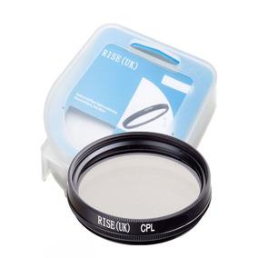 Filtro Cpl Circular Polarizador Para Lente Filtro De 82mm