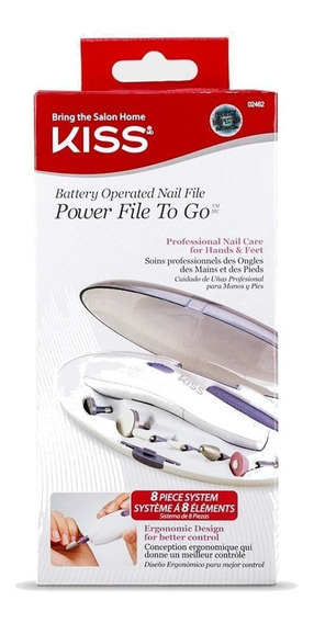 Kiss New York Power File Lixa Eletrica Portatil Para Unhas