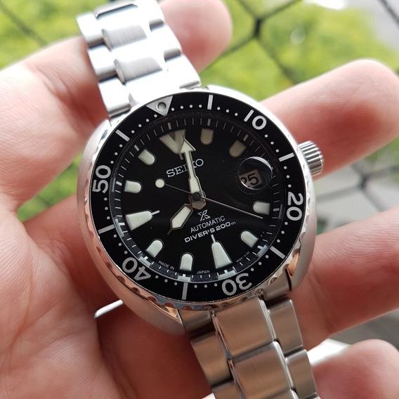 Relógio Seiko Mini Turtle Srpc35j - Usado Em Estado De Novo