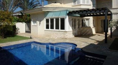 Casa Com 4 Dormitórios À Venda, 400 M² Por R$ 3.500.000 - 18 Do Forte - Santana De Parnaíba/sp - Ca3428