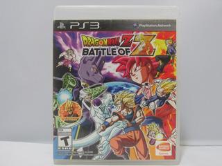 Dragon Ball Z Battle Of Z - Ps3 ¡fisico-usado!