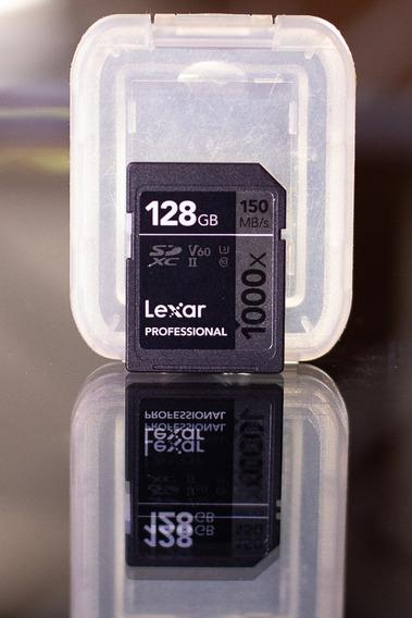 Sdhc Lexar 128gb Pro 1000x 150mb/s (opç Sandisk Extreme)