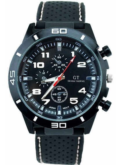 Reloj Gt Sport Silicon Hombre Deportivo Moda Militar A687