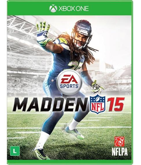 Madden Nfl 15 Xbox One Mídia Física Novo Lacrado