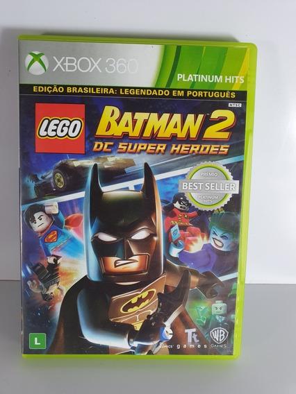 Lego Batman 2 Xbox 360 Dc Totalmente Em Português M Fisica