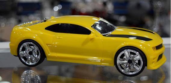 Carro Esportivo Caixa De Som Portátil Mp3 Micro Sd Usb Fm