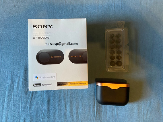 Fone De Ouvido Sony Wf-1000xm3