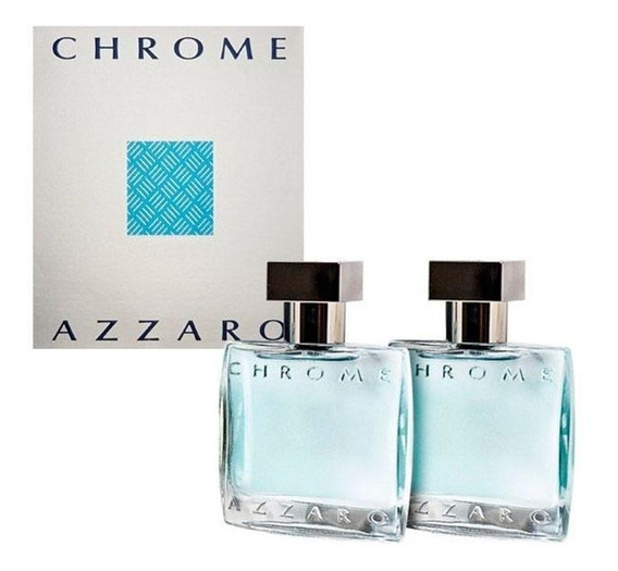 2 Azzaro Chrome Eau De Toilette Coffret/ 30ml
