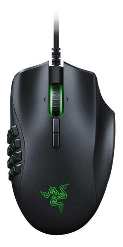 Imagen 1 de 3 de Mouse de juego Razer  Naga Trinity negro
