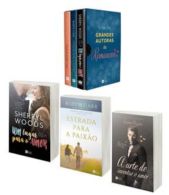 Livro Box Grandes Autoras De Romances - 3 Livros - Lacrado