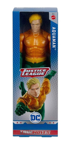 Aquaman Liga De La Justicia