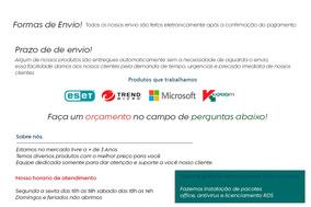 Licença Windows Server 2012 50 Cals Rds User/device - Nfe
