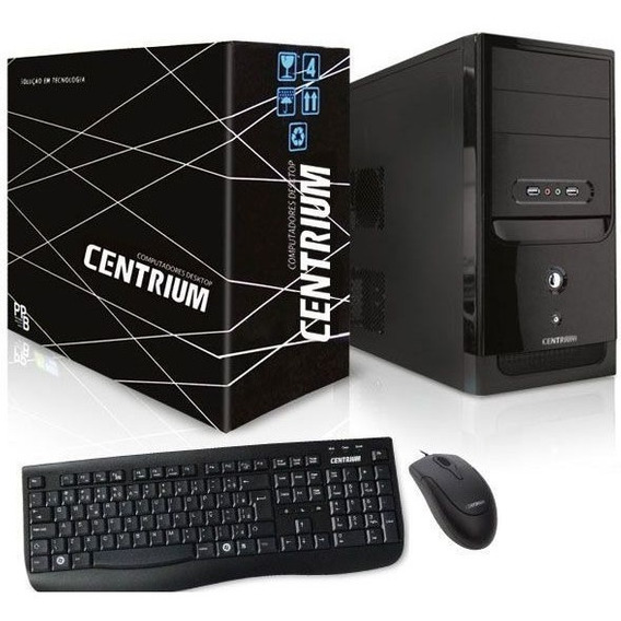 Computador Intel Thinline Pentium G5400 4gb Ddr4 500gb Linux
