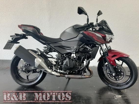 Kawasaki Z 400 Abs 2020 Preta N Cb 300 Cb 500