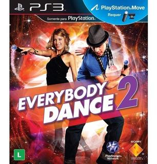 Juego Everybody Dance 2 Físico Ps3 Sellado Nuevo