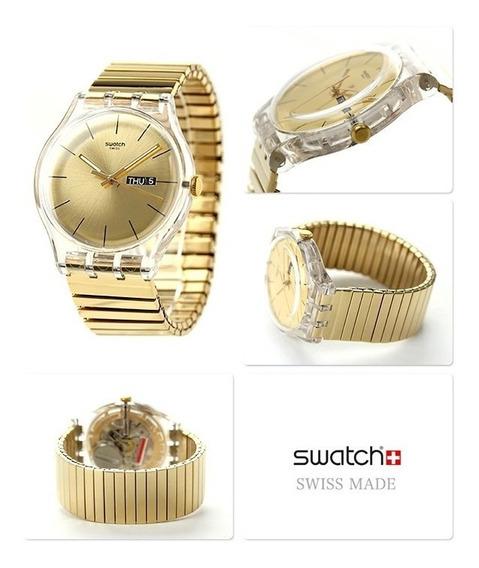 Relógio Swatch Dazzling Light Suok702b