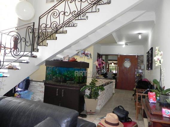 Sobrado 3 Suítes À Venda, 323 M² Por R$ 1.380.000 - Vila Caminho Do Mar - São Bernardo Do Campo/sp - So0318