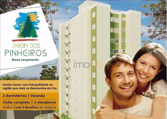 Apartamento Residencial À Venda, Pinheirinho, Itu - Ap0462. - Ap0462
