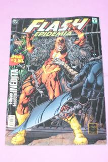 Hq Flash Epidemia Ediçao Especial Gibi Editora Abril 2002