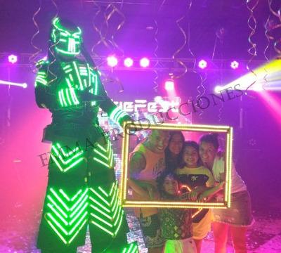 Robot Led, Show Robot, Fotocabina