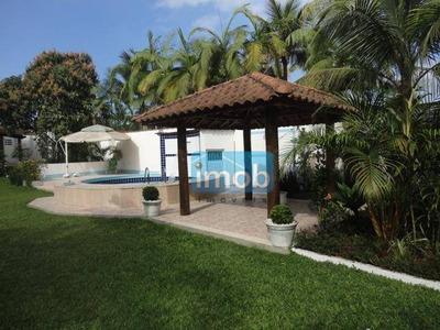 Casa Residencial À Venda, Morro De Nova Cintra, Santos. - Ca0057