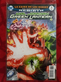 Dc Comics Hal Jordan And The Green Lantern Corps #15 Rebirth