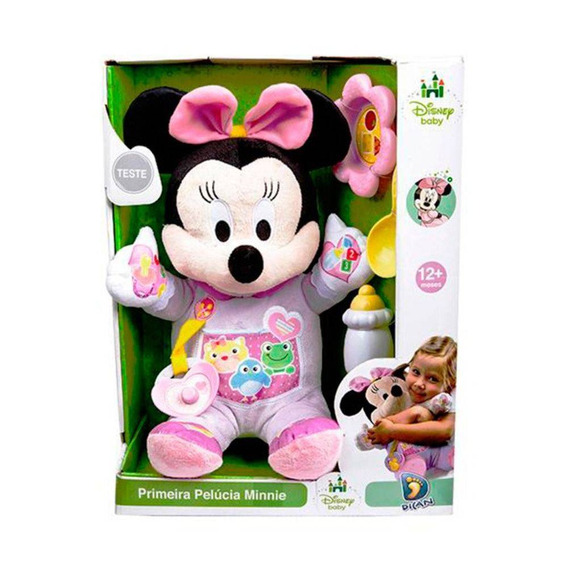 Primeira Pelúcia Minnie Disney