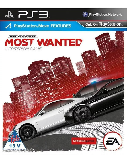 Need For Speed Most Wanted Ps3 Psn Super Promoção Jogue Hoje