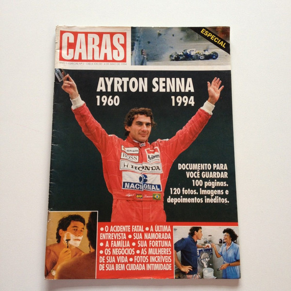 Revista Caras Especial Ayrton Senna Nº02 Maio De 1994
