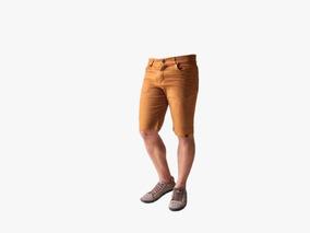 Bermudas Shorts Jeans Sarja Colorido Oferta