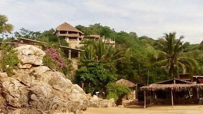 Espectacular Casa A Pie De Playa En Puerto Angel / Oaxaca