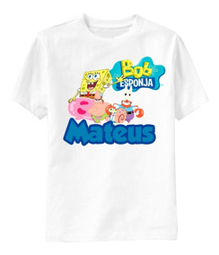 Camisa Infantil - 1 Ano Personalizada Qualquer Tema! Bob
