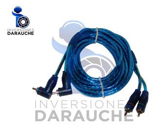 Cable Rca 6m 2 Puntas Rectas / 2 Puntas En Angulo (fx309)